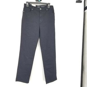 Style & Co 10P Black Straight Leg Jeans 8BF19